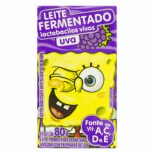 Oferta de LEITE FERM ELEGE 80g C6 BOB UVA por R$7,49