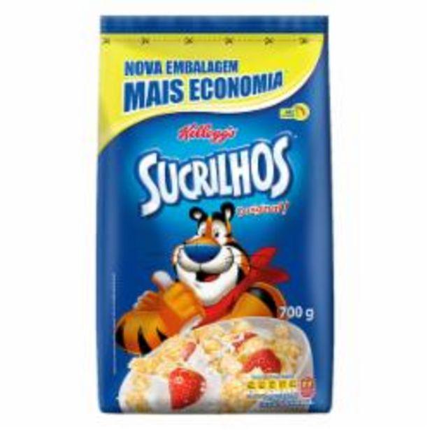Oferta de CEREAL KELLOGGS 700g SUCRILHOS SC por R$15,99
