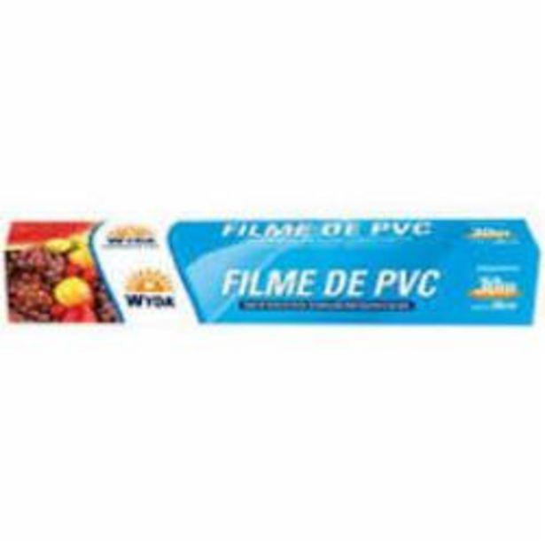 Oferta de FILME PVC WYDA 28cmX30m por R$10,69
