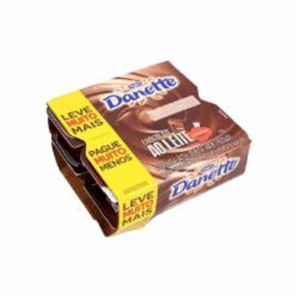Oferta de SOBR LACTEA DANETTE 720g CHOCOLATE por R$16,99