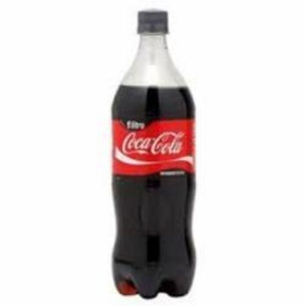 Oferta de REFRIGERANTE COCA COLA 1L por R$5,29