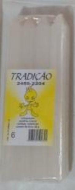 Oferta de VELA TRADICAO N6 por R$9,9