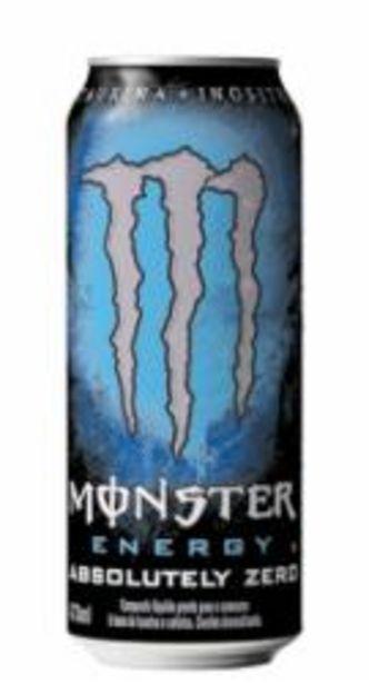Oferta de ENERG MONSTER 473ml ABSOL ZERO por R$5,99