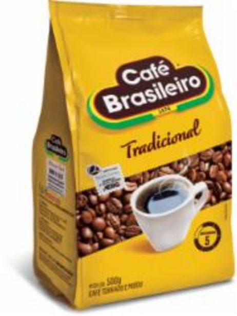 Oferta de CAFE BRASILEIRO POUCH 500g TRADICIONAL por R$11,99