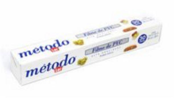 Oferta de FILME PVC METODO 30X28 por R$7,99
