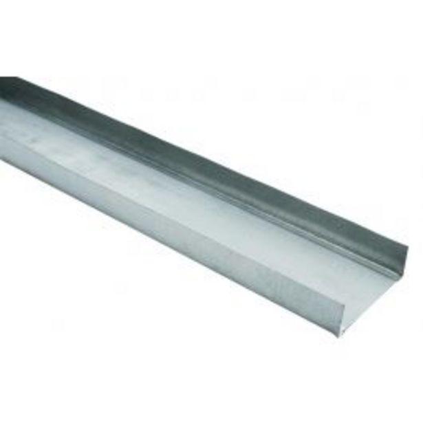 Oferta de Guia Drywall 90mm 3m por R$29,99