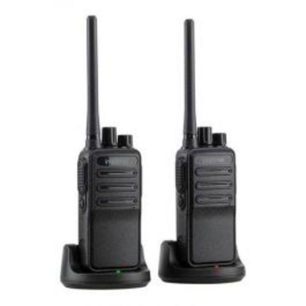 Oferta de Rádio Comunicador com 16 Canais e Bateria de Lítio RG3002 G2 por R$369,9