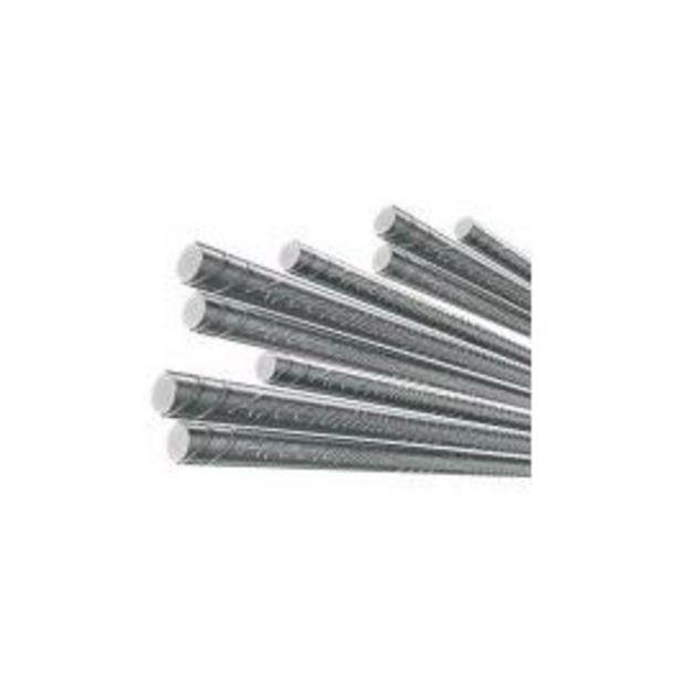 """Oferta de Vergalhão Aço Nervurado CA-50 10mm (3/8"""") Barra 12m por R$59,9"""