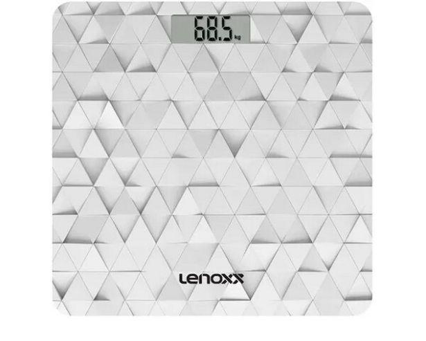 Oferta de Balança Eletrônica Lenox PBL793 Branco/Prata Pilha por R$69,26