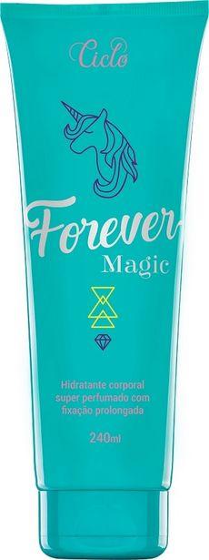 Oferta de Loção Hidratante Forever Magic Ciclo Cosméticos 240ml por R$30,31