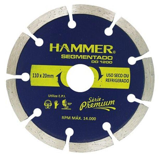 Oferta de Disco Diamantado Hammer GYdd1200 por R$9,51