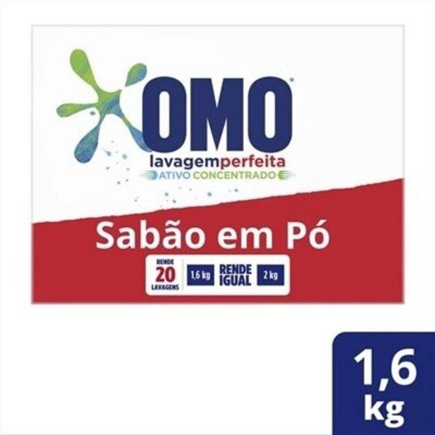 Oferta de Sabão em Pó Omo Lavagem Perfeita - 1,6kg 9 Unidades por R$189,91