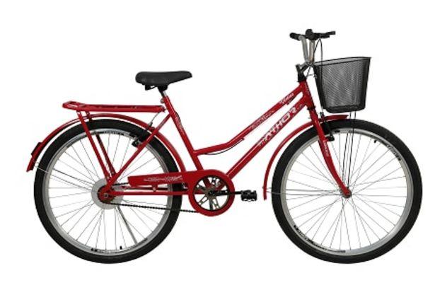 Oferta de Bicicleta Athor Aro 26 Vênus 4100 Vermelho por R$759,91