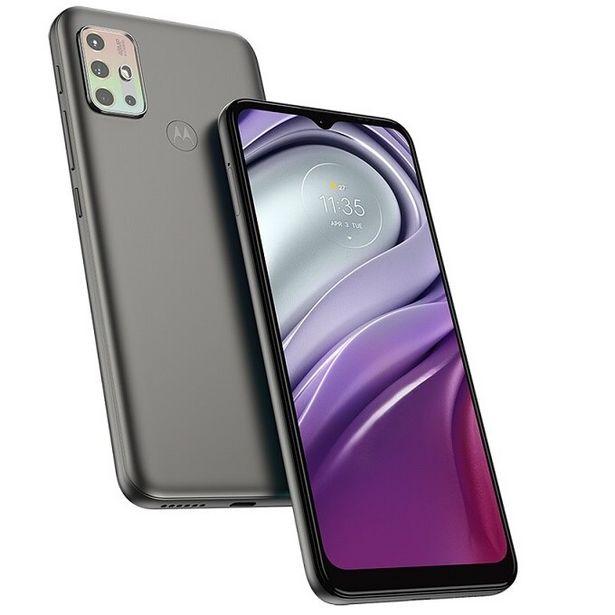 "Oferta de Smartphone Motorola Moto G20 64GB, 4GB RAM Tela 6,5"" XT2128-1 Grafite por R$1139,91"