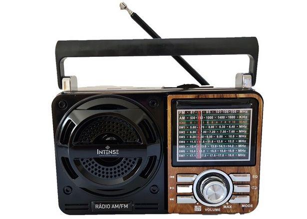Oferta de Rádio Portátil Intense 9 Faixas USB IRA-1088 - Amadeirado por R$174,71