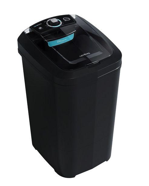 Oferta de Tanquinho Newmaq Black Semiautomático 14kg - Preto por R$493,91