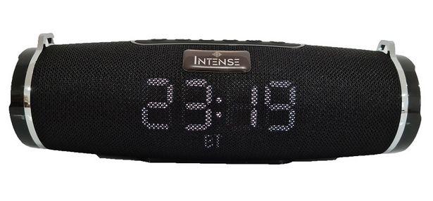 Oferta de Speaker Radio Relógio Intense CLK ISP-0176 30W - Preto por R$161,41