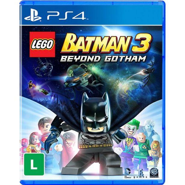 Oferta de Jogo Sony PS4 LEGO BATMAN 3 (PS HITS) por R$66,41