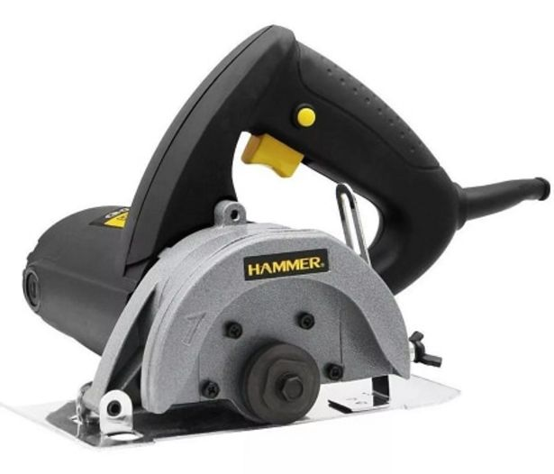 Oferta de Serra Mármore Hammer GYSM1100 Preto por R$237,41