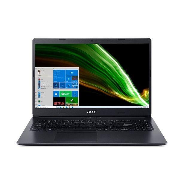 """Oferta de Notebook Acer Aspire3 AMD Ryzen, 512 GB SSD, Tela 15.6"""", A31523R6HC, - Preto por R$4575,11"""