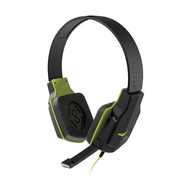 Oferta de Fone Multilaser Headset Gamer P2 PH146 Preto / Verde por R$66,41