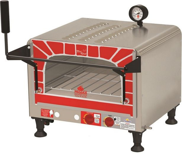 Oferta de Forno Progás Style PRP400G Mini Chef por R$902,41