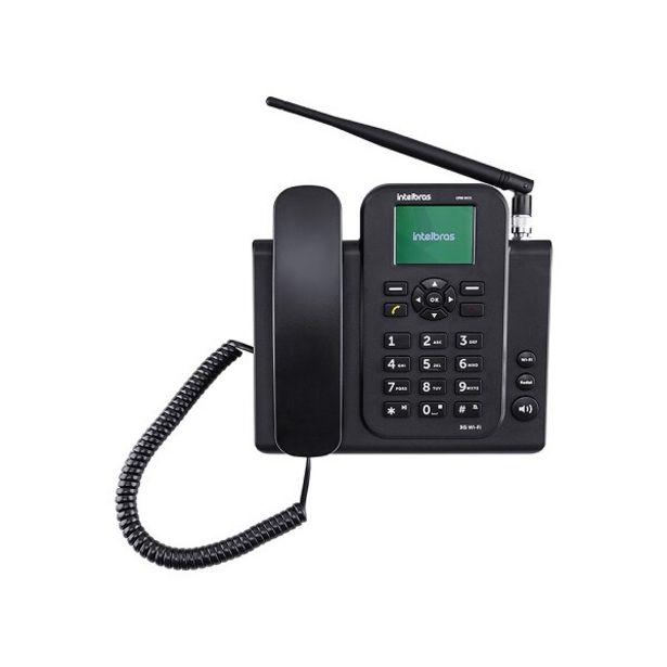Oferta de Telefone IntelBras Fixo 3GWIFICFW8031 por R$560,41