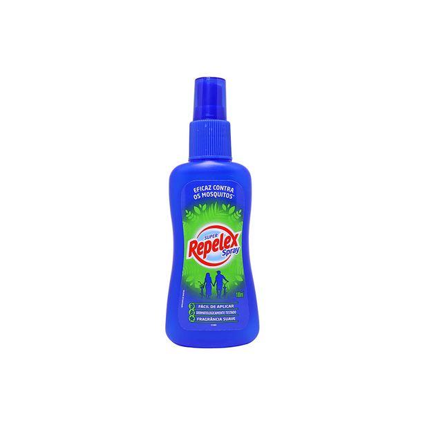 Oferta de Repelente de Insetos Super Repelex Spray Family de 100ml por R$16,67