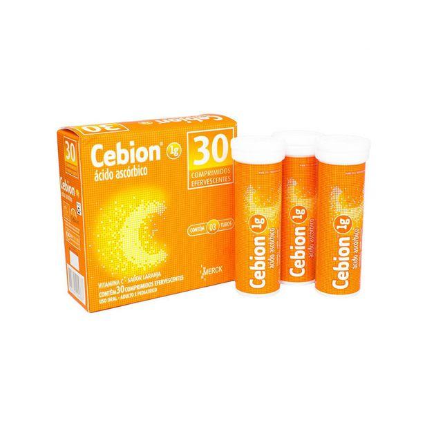 Oferta de Cebion 1g Laranja 30 Comprimidos Efervescente por R$19,9