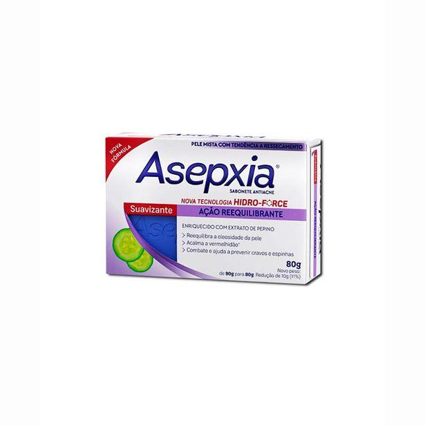 Oferta de Sabonete Em Barra Facial Asepxia Suavizante Reequilibrante 80g por R$13,73