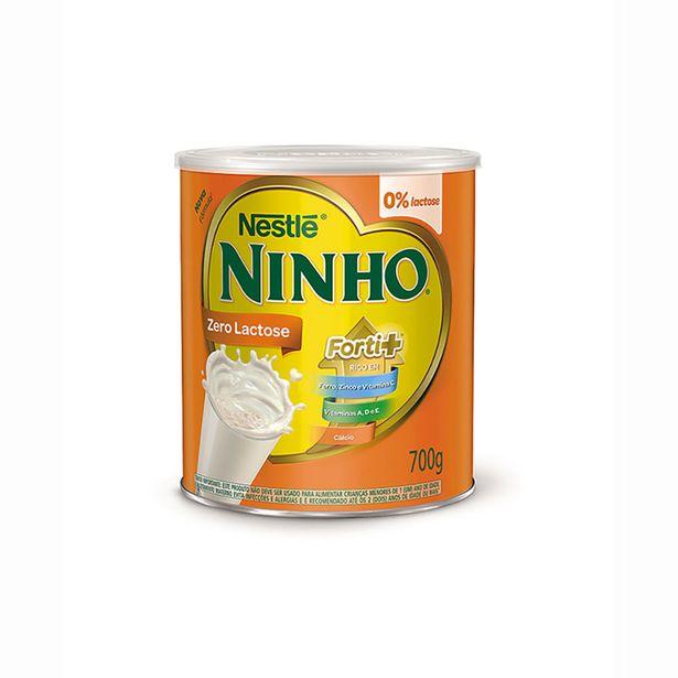 Oferta de Leite Ninho Forte+ Zero Lactose - 700 g por R$32,66