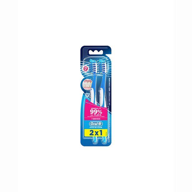 Oferta de Escova Dental Oral B P.Saude 7 Beneficios 35 Mc Lv2 Pg1 por R$14,75