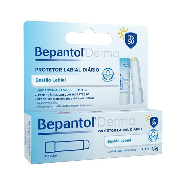 Oferta de Bepantol Derma Protetor Labial Diário Fps 50 Bastão 4,5g por R$30,49