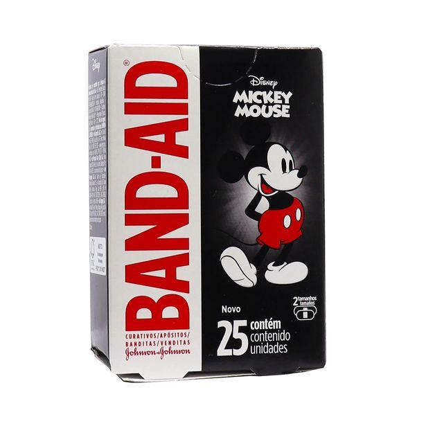 Oferta de Curativos Band-Aid Disney Mickey Mouse com 25 Unidades por R$11,47