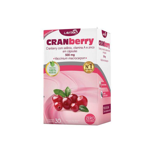 Oferta de Lavitan Cranberry 30 Capsulas por R$39,79