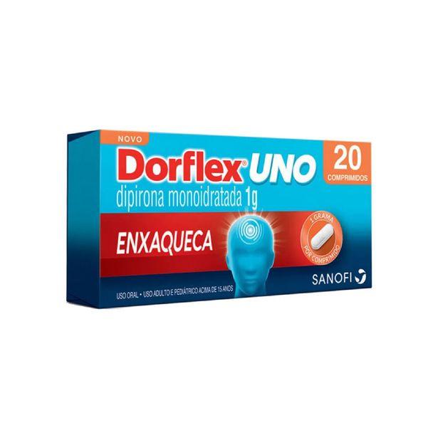 Oferta de Dorflex Uno Enxaqueca 1g 20 Comprimidos por R$17,99