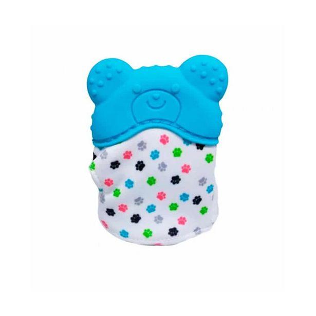 Oferta de Luvinha Mordedor Buba Urso Azul 10720 por R$27,56