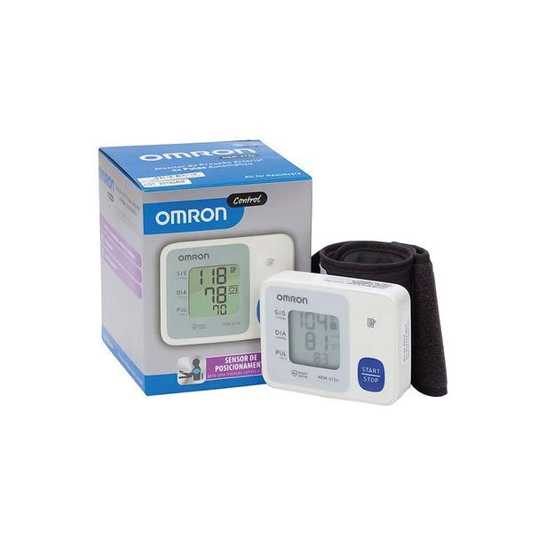 Oferta de Aparelho Monitor de Pressão Arterial Omron Pulso Hem-6124 por R$140,49
