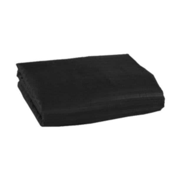 Oferta de Lençol Casal Avulso Stripes com Elástico Black Vestcasa... por R$15