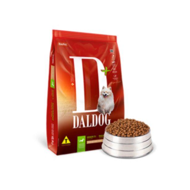 Oferta de Ração DalDog Adulto Sênior Pacote 1kg DalPet... por R$14,49