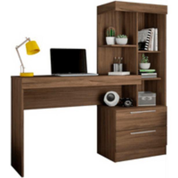 Oferta de Mesa para Escritório com Nicho, 2 Gavetas, MDP - Office NT 2010 por R$349