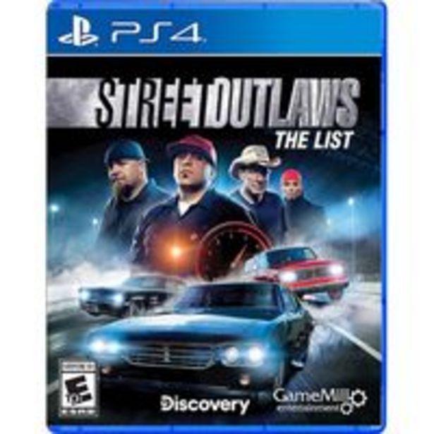 Oferta de Jogo para playstation Street Outlaws The List - PlayStation 4, PlayStation 5 por R$543