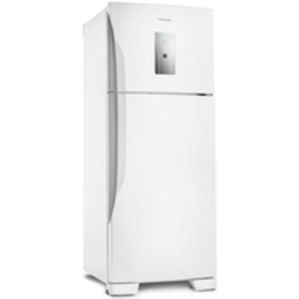 Oferta de Geladeira / Refrigerador Panasonic Frost Free, Duplex, Econavi, 435L, Branca - NR-BT50BD3W por R$2899