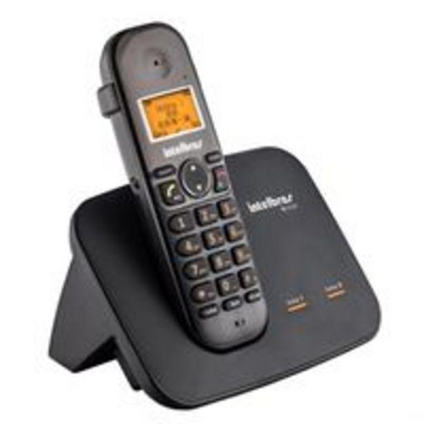 Oferta de Telefone sem Fio Digital Intelbras TS5150 com Entrada para 2 Linhas Preto por R$294,54