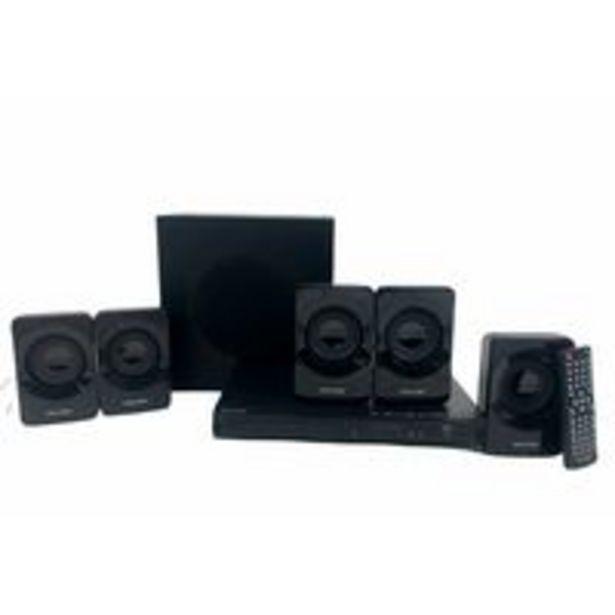 Oferta de Home Theater Multilaser Com DVD 320W HDMI SP268 - Preto por R$783,55
