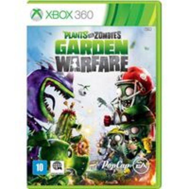 Oferta de Plants VS Zombie Warfare XBOX 360 DVD (EAR2692X) por R$155,04