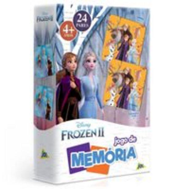 Oferta de Jogo da Memória Frozen 2 - Toyster por R$29,9