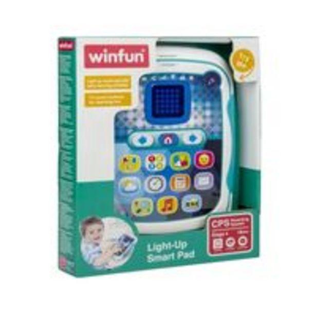 Oferta de Tablet Inteligente Bilíngue - Pura Diversão por R$159,9