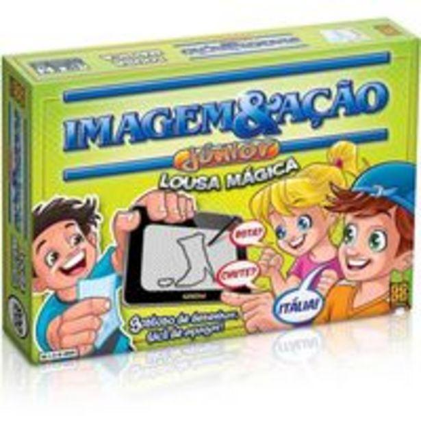 Oferta de Jogo Imagem & Ação Júnior Lousa Mágica - Grow por R$89,9
