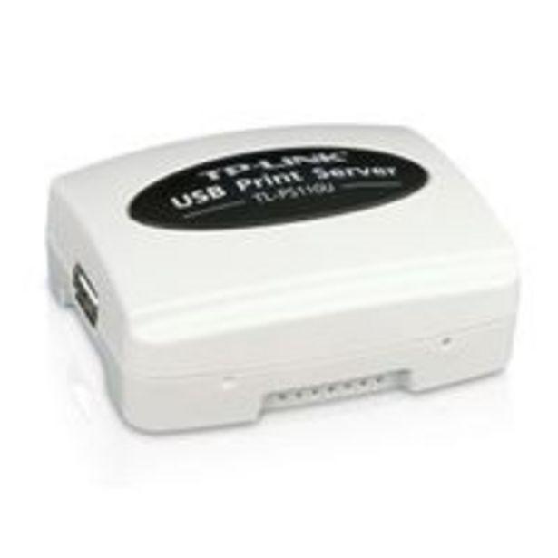 Oferta de SERVIDOR DE IMPRESSAO USB TP-LINK 1 ETHERNET USB 2.0 por R$529,99